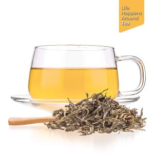 gele thee kopje